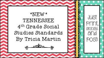 Tennessee 4th Grade Social Studies Standards