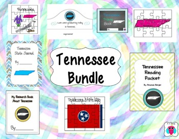 Tennessee Bundle- 8 Resources
