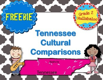 Tennessee Cultural Comparisons -- FREEBIE!