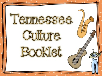 Tennessee Culture Booklet- Learning About the Three Grand