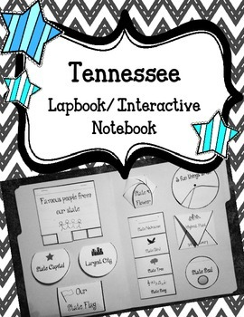 Tennessee State Lapbook. Interactive Notebook. US History