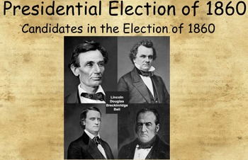 Tennessee Through Time: The Presidential Election of 1860