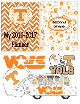 Tennessee Volunteers Ultimate Planner 2016-17