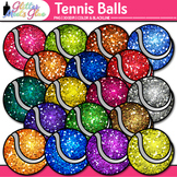 Tennis Balls Clip Art {Sports Equipment for Physical Educa