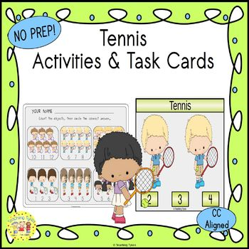 Tennis Worksheets Activities Games Printables and More