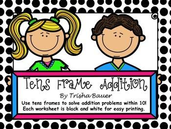 Tens Frame Addition