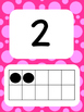 Tens Frame Number Posters 1-20 (Bright Bubbles)
