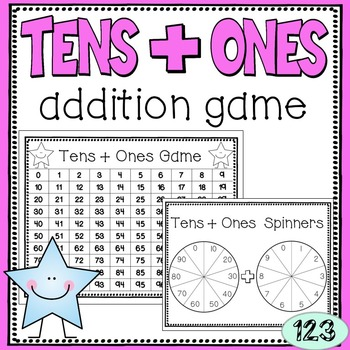 Tens + Ones Addition Game