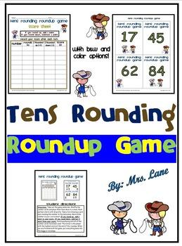 Tens Rounding Roundup Game