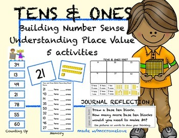 Tens and Ones Building Number Sense & Understanding Place Value