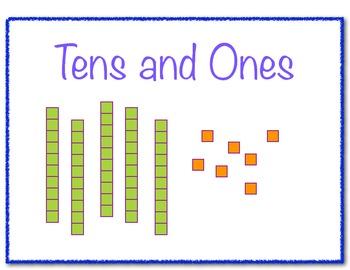 Common Worksheets » Ones And Tens Worksheet - Preschool and ...