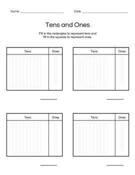 Tens and Ones Guided Practice
