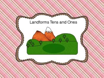 Tens and Ones Landform Math Center