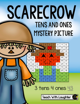 Tens and Ones Mystery (Picture Scarecrow) (1-120)