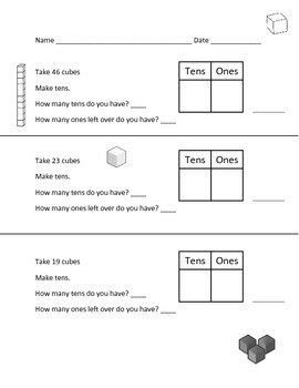 Tens and Ones - Place Value