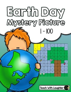 Tens and Ones Place Value Mystery Picture (Earth Day)