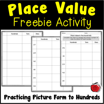 Common Worksheets » Place Value Blocks Worksheets For First Grade ...