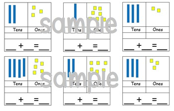 Tens and ones partitioning tasks
