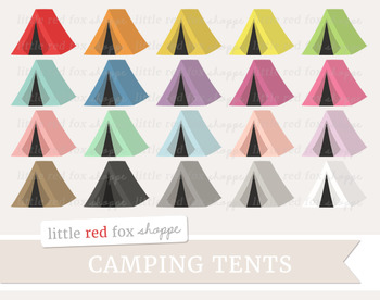 Tent Clipart; Camping