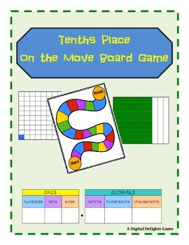 Tenths Place on the Move Game