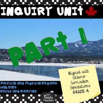 Term 1 Grade 4 Ontario Science and Social Studies Inquiry Unit