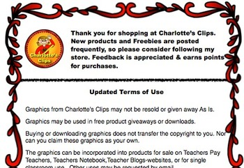 Terms of Use for Licensed Clip Art