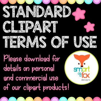 Terms of Use for all Clipart - Simplified in Download/Deta