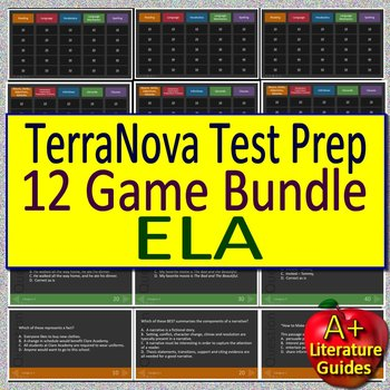 Terra Nova TerraNova Review Game BUNDLE!
