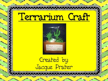 Terrarium Fun Craft!