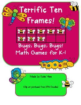 Terrific Ten Frames - Bugs, Bugs, Bugs!