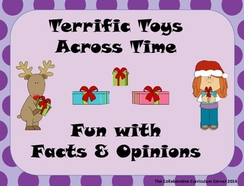 Terrific Toys Across Time: Fun with Facts and Opinions