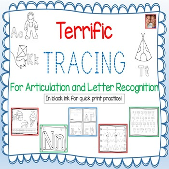 Terrific Tracing For Articulation And Letter Recognition -