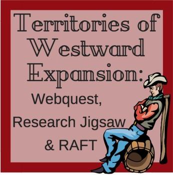 Territories of Westward Expansion: Webquest, Research Jigs