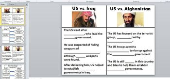 Terrorism Note Taking Sheet