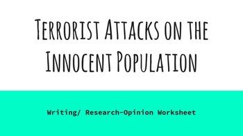 Terrorist Attacks in America and Beyond