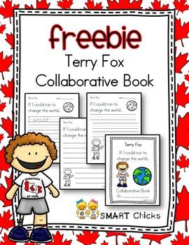 Terry Fox Collaborative Book FREEBIE!