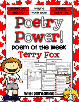 Terry Fox Poetry Power! Daily Literacy Practice