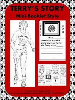 Terry's Story - Mini Booklet Style