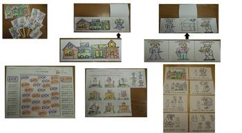 Tesoros Kinder  El vecindario de Quinito activities cscope