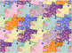 Bookmark: Barking Dog Tessellation Freebie