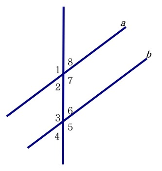 Test 2: Parallel Lines with a Transversal, Basic Proofs an