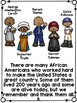 Black History Month Activities Printable Readers with Writ