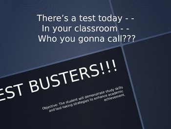TestBusters! Test Taking Tips & Study Skill Strategies Pow