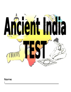 Test: Indus River Valley (Ancient India): mult choice, mat