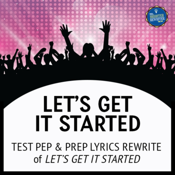 Testing Song Lyrics for Let's Get It Started