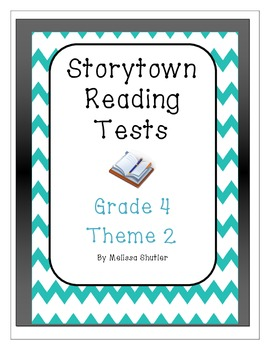 Storytown Test Prep Assessments Grade 4 Theme 2