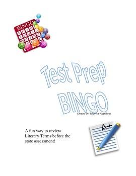 Test Prep BINGO Review Game