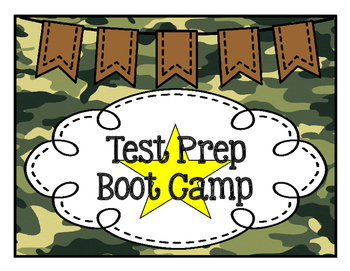 Test Prep Boot Camp
