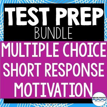 Test Prep Bundle - Multiple-Choice, Short Answer, and Moti
