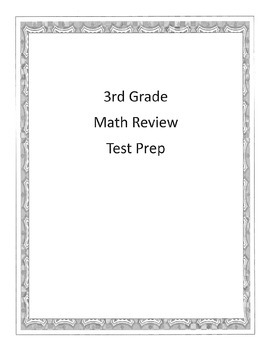 Test Prep Daily Work Math 3rd Grade